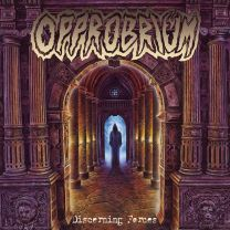 OPPROBRIUM - Discerning Forces  ( Transparent Piss Yellow Vinyl)