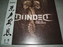 BONDED - Rest In Violence (Rest In Violence White Splatter Vinyl Ltd 100 China Edition)