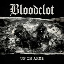 BLOODCLOT - up in arms (Blue vinyl)