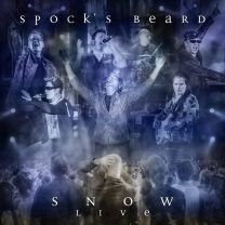 SPOCK'S BEARD - Snow Live (Blue Marbled Vinyl)