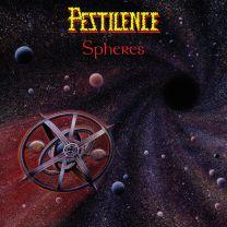 PESTILENCE - Spheres (Clear/Red Splatter Vinyl)