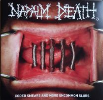 NAPALM DEATH - Coded Smears And More Uncommon Slurs (Red vinyl)