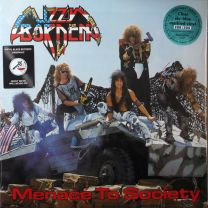 LIZZY BORDEN - Menace To Society (Blue Sky Clear Marbled Vinyl)