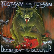 FLOTSAM AND JETSAM - Doomsday For The Deceiver (Red with White Marble vinyl)