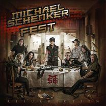 MICHAEL SCHENKER FEST - Resurrection (Clear With Red Splatter Vinyl)