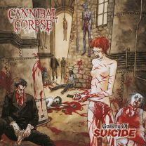 CANNIBAL CORPSE - Gallery Of Suicide (Clear grey-brown marbled vinyl)