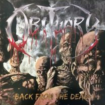 OBITUARY - Back From The Dead ( Transparent Yellow Vinyl)