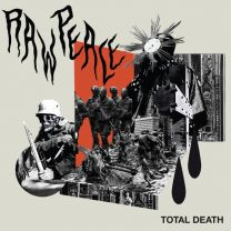 RAW PEACE - Total Death (Red Vinyl)