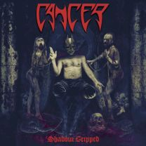 CANCER - Shadow Gripped (Red vinyl)
