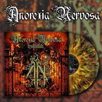 ANOREXIA NERVOSA - Drudenhaus (clear vinyl with yellow, orange & black splatter)