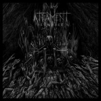 ATRAMENT - Scum Sect (translucent red vinyl with black marble effect)