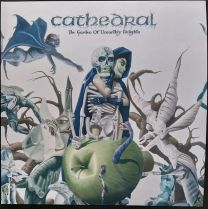 CATHEDRAL - The Garden Of Unearthly Delights (Clear with White & Green Splatter vinyl)