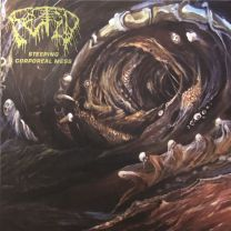 FETID - Steeping Corporeal Mess (Green Inside Clear w/ Highligher Yellow & Brown Splatter Vinyl)