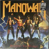 MANOWAR - Fighting The World (Blue vinyl)