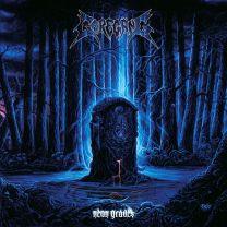 GOREGANG - Neon Graves (Grimace Purple With Transparent Blue Vinyl)