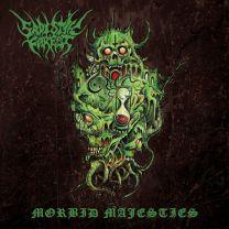SADISTIK FOREST - Morbid Majesties ( Red Transparent Marbled Vinyl)