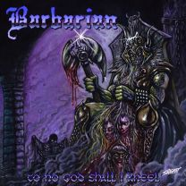 BARBARIAN - To No God Shall I Kneel (purple/baby blue swirl vinyl.)