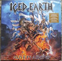 ICED EARTH -  Alive In Athens (Box ,5 × Vinyl )