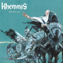KHEMMIS - Hunted (Baby Blue/Aqua Blue/Oxblood Tri-Color Mix Vinyl)