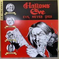 HALLOWS EVE - Evil Never Dies (Red Vinyl)