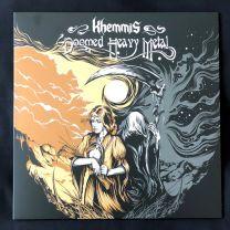 KHEMMIS - Doomed Heavy Metal (Baby Blue/Silver Merge Vinyl)