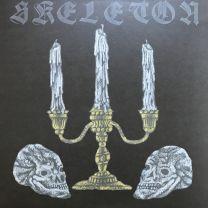 SKELETON - Skeleton (Gold inside Ultra Clear w/ Black splatter Vinyl)