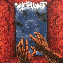 WITCH VOMIT -Poisoned Blood (Red / Cyan / Baby Blue Merge WIth Orange / Black Splatter Vinyl)