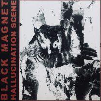 BLACK MAGNET - Hallucination Scene (Red/Black Merge w/ Red Splatter Vinyl)