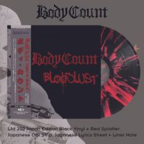 BODY COUNT - Bloodlust ( Red Splatter Vinyl)