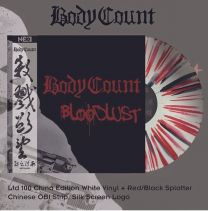BODY COUNT - Bloodlust ( White With Red / Black Splatter Vinyl)