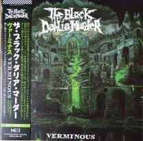 THE BLACK DAHLIA MURDER - Verminous ( White With Green & Purple Splatter Vinyl) Japan
