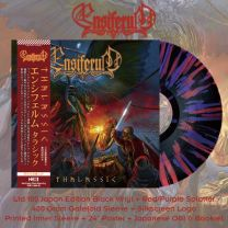 ENSIFERUM - Thalassic (Black With Red & Purple Splatter Vinyl) japan
