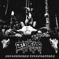 BELPHEGOR - Necrodaemon Terrorsathan ( Polar White & Fire Red Splatter Vinyl)