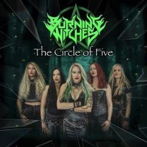BURNING WITCHES - The Circle Of Five (Sparkle Vinyl)