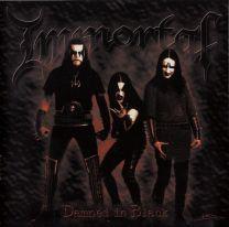 IMMORTAL - Damned In Black (Clear w/ Rainbow Splatter Vinyl)