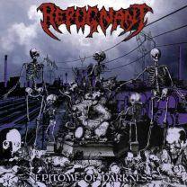 REPUGNANT - Epitome Of Darkness (Red Vinyl)