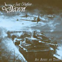 JUST BEFORE DAWN - An Army At Dawn (Blue-Brown Marbled Vinyl)