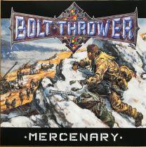BOLT THROWER - Mercenary ( Snow Slush White Marbled Vinyl)