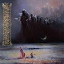 ATRAMENTUS - Stygian (Neon Violet / Cyan Blue / Black Tri - Color Merge Vinyl)