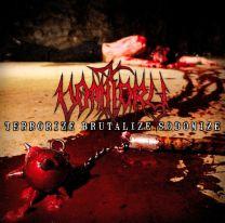 VOMITORY - Terrorize Brutalize Sodomize (Bloody Skin Marbled Vinyl)