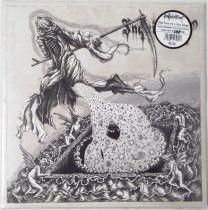 INQUISITION - Black Mass For A Mass Grave (Clear Gold Splatter Vinyl)