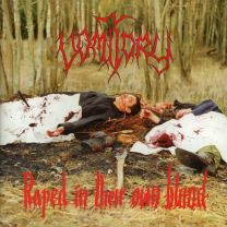 VOMITORY - Raped In Their Own Blood (Silver Grey with Black Marble Vinyl)