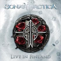 SONATA ARTICA - Live In Finland (Clear W/ Red & Black Splatter Vinyl)