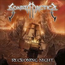 SONATA ARTICA - Reckoning Night (Clear w/ Orange & White Splatter Vinyl)