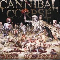 CANNIBAL CORPSE - Gore Obsessed (Clear Grey-Brown Marbled vinyl)