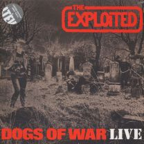 THE EXPLOITED - Dogs Of War Live (Grey vinyl)