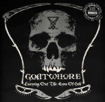 GOATWHORE - Carving Out The Eyes Of God (Clear/Black Splattered vinyl)