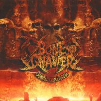 BONE GNAWER - Cannibal Crematorium (Splatter Vinyl)
