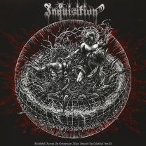 INQUISITION -  Bloodshed Across The Empyrean Altar Beyond The Celestial Zenith (opaque white vinyl)
