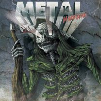 VARIOUS ARTISTS - Metal Massacre 14 (Green Pine Marbled Vinyl) + CD